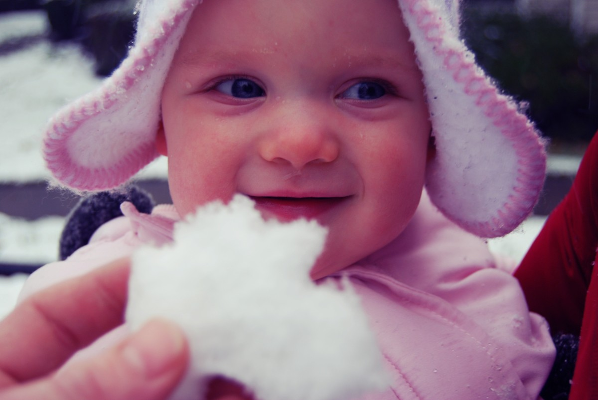 Fun in the Snow (Sofie's first Snow!)